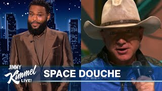Guest Host Anthony Anderson on Bezos' Space Trip, Tom Brady's Trump Shade & Finding His Mama Love