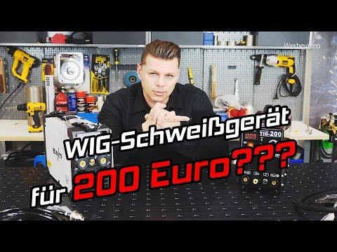 Wig Schweißgerät für 200 Euro? Geht das?