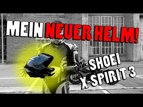 Mein neuer Helm! | Shoei X Spirit 3