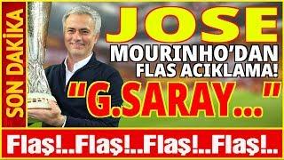 Jose Mourinho Bombayı Patlattı!
