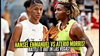 Hansel Enmanuel vs Arterio Morris TURNED UP Las Vegas!! This Game Was a DOG FIGHT!