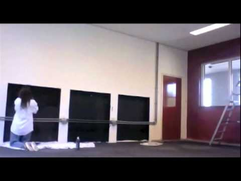 Kunstmanifestatie Boxmeer - 12 uur voorbereiding in 1,5 minuut
