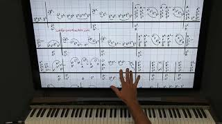 Piano Boogie Woogie Lesson Bill Pinkney And The Drifters