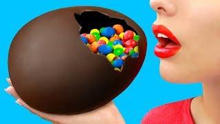 DIY Giant Chocolate Egg / 8 Easter Crafts And DIYs