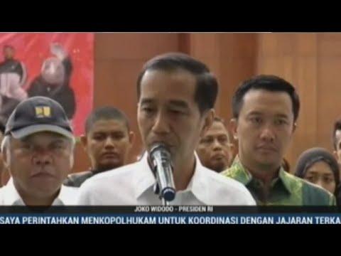 Indonesia earthquake: Press conference of president Joko Widodo