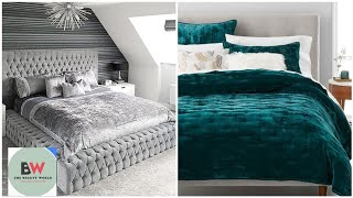 Exclusively Gorgeous New Velvet Bedsheets Comforter Sets