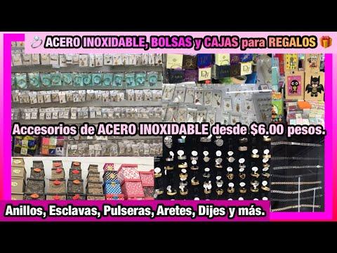 💍Accesorios ACERO INOXIDABLE desde $6 pesitos | 🛍️ BOLSAS y CAJAS REGALO | PASAJE METRO TEPITO📦