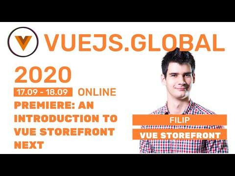 Image thumbnail for talk Introduction to Vue Storefront Next