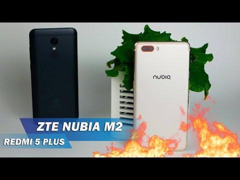 ZTE NUBIA M2 - ОГОНЬ в 2018-м? Обзор на фоне Redmi 5 Plus