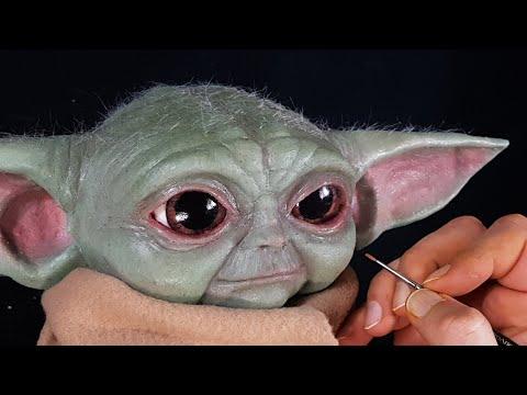 Baby Yoda Sculpture Timelapse - The Mandalorian