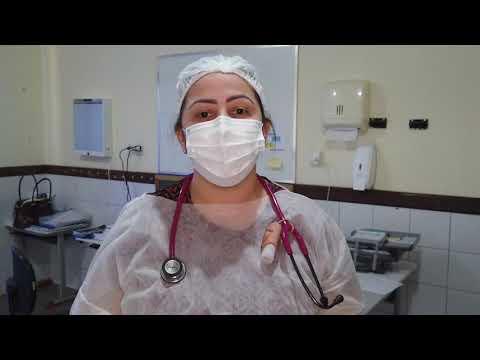 Profissionais da Saúde de Juscimeira se manifestam em apoio a enfermeira