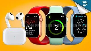 Apple Watch Series 7 & AirPods 3 Leaks in Detail