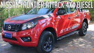 Avaliação: Nissan Frontier Attack 4x4 Diesel