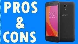 Lenovo Vibe B Pros And Cons | Lenovo B | Entry Level Smartphone