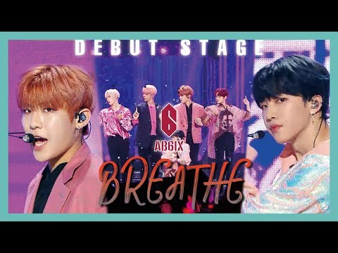 [Debut Stage]  AB6IX - BREATHE ,  에이비식스 - BREATHE  Show Music Core 20190525