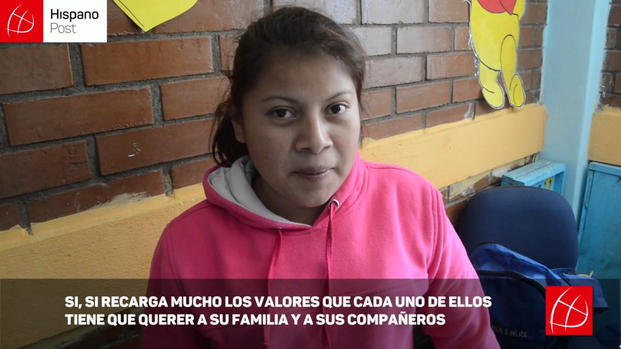 Escuela de Guatemala aleja a los niños de la delincuencia