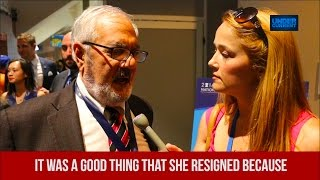 Barney Frank on Debbie Wasserman-Schultz: It's a Good Thing She Resigned