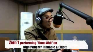 Zion T on Night Vibe 101.3