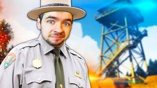 MAN GONE WILD | Firewatch #1