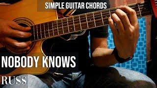 Nobody Knows Guitar Chords   Simple Rush