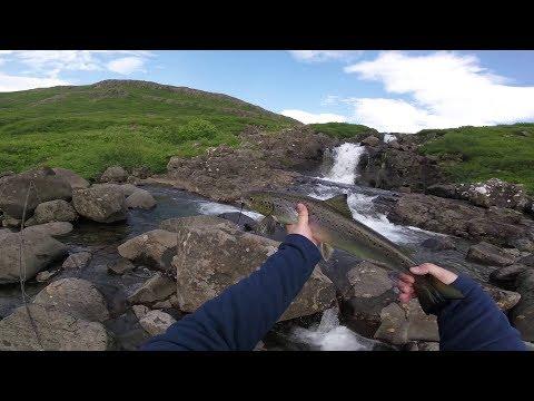 Sudurfossa river in Raudasandur - NW Iceland