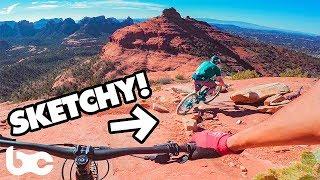 DON'T LOOK RIGHT! | Hangover trail in Sedona, AZ