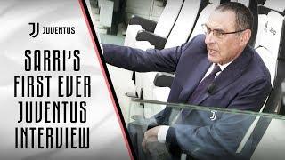 Maurizio Sarri's First Ever Juventus Interview