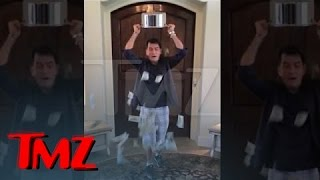 Charlie Sheen -- Ice Bucket Challenge with a BIG Twist | TMZ