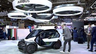 Женевский автосалон: летающий автомобиль в стиле Бонда (новости)