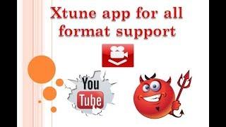 Xtunes app music app