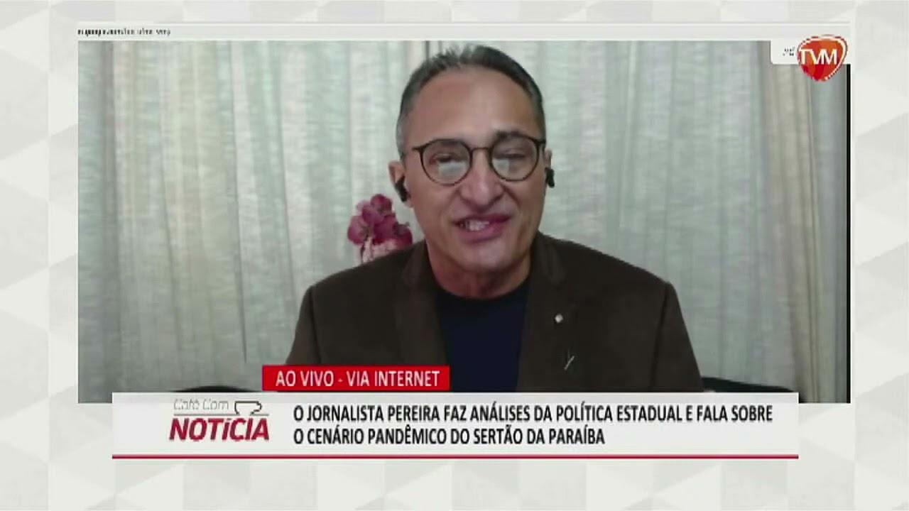 BR 9+ Pereira Jr estreia na TV Master analisando a política do Sertão