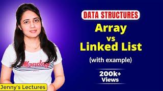 2.3 Arrays vs Linked List | Data structures