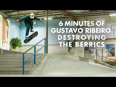 6 Minutes Of Gustavo Ribeiro Destroying The Berrics