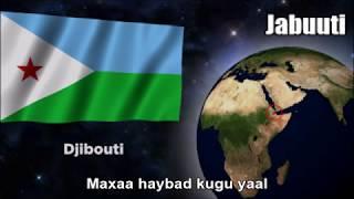 National Anthem of Djibouti (Jabuuti) - Nightcore Style With Lyrics