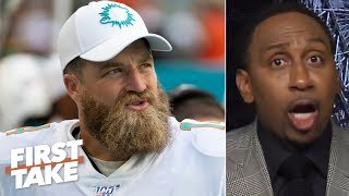 The Dolphins know they stink, but they aren't tanking - Stephen A. | First Take