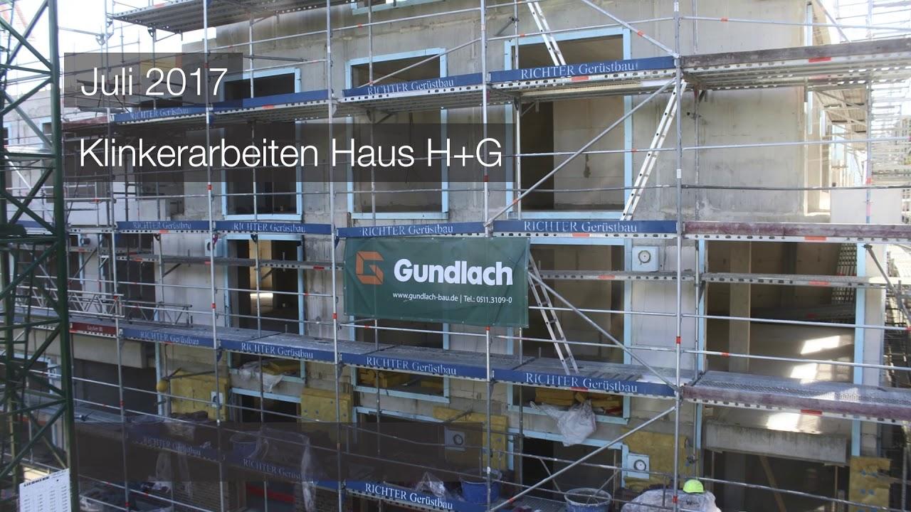 Gundlach | Zeitraffer April - August 2017 | Hannover - Altenbekener Damm | Wohnen am Maschsee