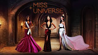Top 3 Miss Universe 2017-2018