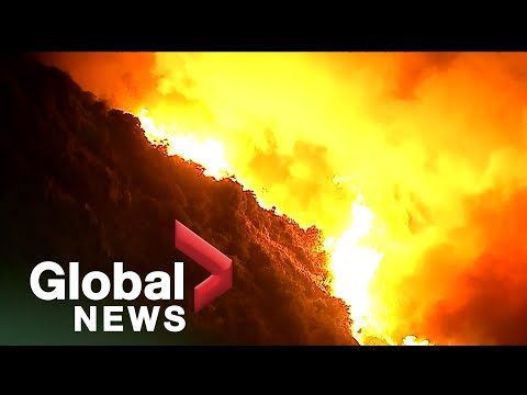 """Southern California """"Apple Fire"""" forces nearly 8,000 to evacuate"""