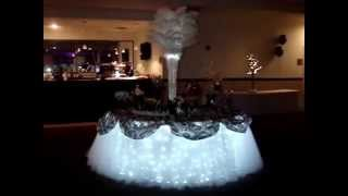 Tulle Fairy Table Cloth Linens By Sweet 16 Candelabras