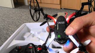 Spyforce Mini HD Quadrocopter Drohne Ninetec