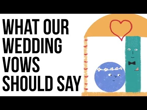 What Your Wedding Vows Should Say