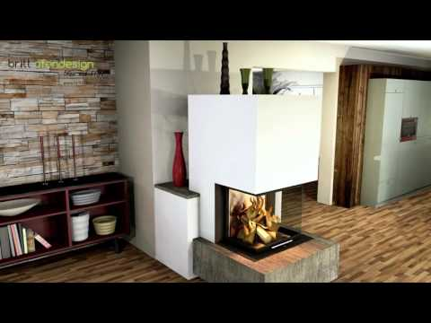 057- britt ofendesign/fireplacedesign - Heizkamin Modern -  Contemporary Fireplace