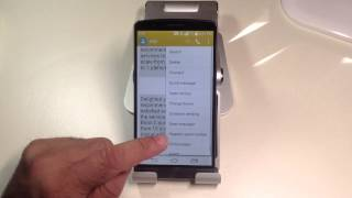 LG G3 Tips:  How to tag a text as a spam message