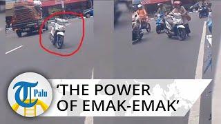 Video 'The Power of Emak-emak', Parkir di Tengah Jalan, Sampai Dikomentari Gubernur Ganjar Pranowo