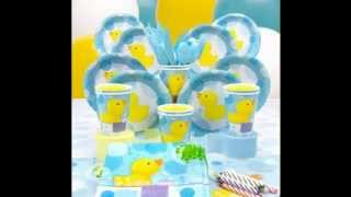 Rubber Ducky Baby Shower Decorations Ideas