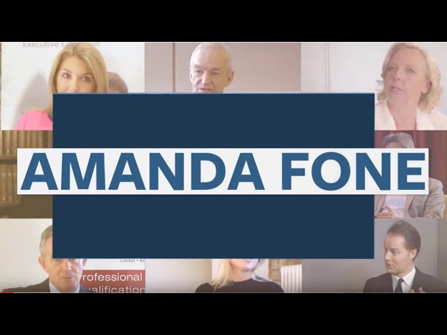 Amanda Fone on How To Secure A Role in the Modern Job Market