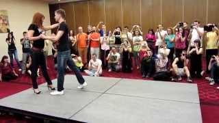 Кизомба: Синкопированный шаг (Андрей и Кристина)