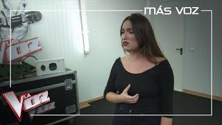 Marina Damer Ensaya 'Lo Saben Mis Zapatos' Para Las 'Audiciones A Ciegas' | Más Voz 2019