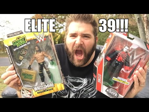 LIVING OUTSIDE UNBOXING WWE Elite Series 39 Wrestling Figures!