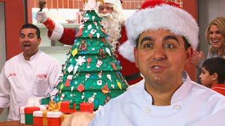 Buddys Christmas Tree Cake!   Cake Boss